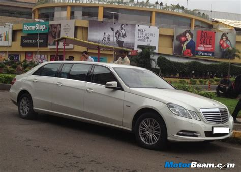 Mercedes Limousine by E Class Limousine The About Cars