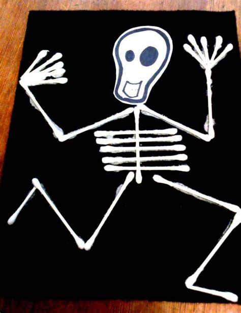 skeleton craft for alive and mortal craft skeleton flag for your