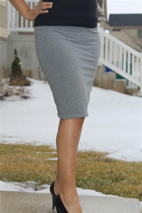 diy knit skirt knit diy pencil skirt allfreesewing