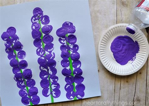purple crafts for stunning hyacinth flower craft for i crafty