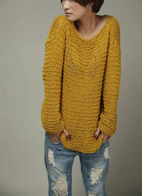 Simple Is The Best Knit Sweater Eco Cotton