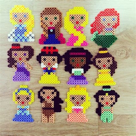 perler disney disney princess perler by zzo ra when you wish