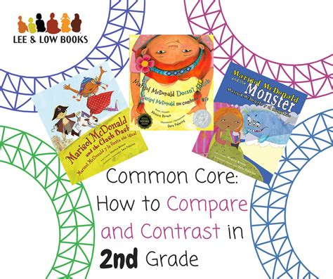 picture books to teach compare and contrast how to compare and contrast with the common in second