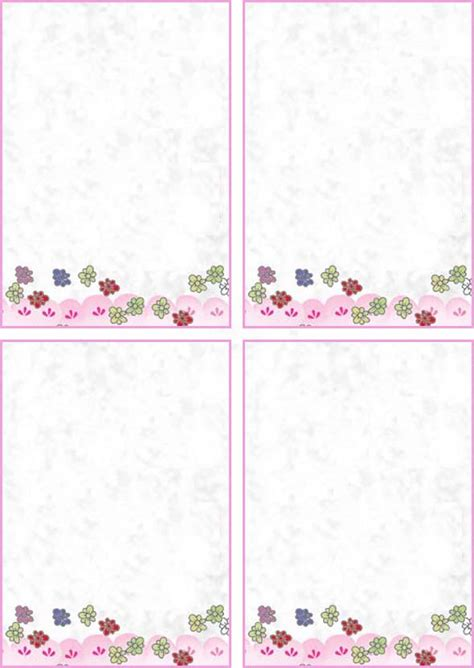 make note cards and print free printable business letterhead personalized business