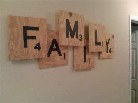 diy scrabble wall pin by brenna lougee on crafts