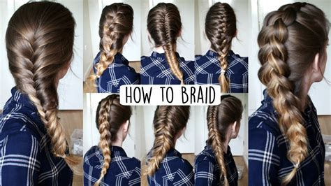 how to put on braided hair how to braid your own hair for beginners how to braid