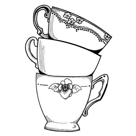 teacup rubber st teacup drawing www pixshark images