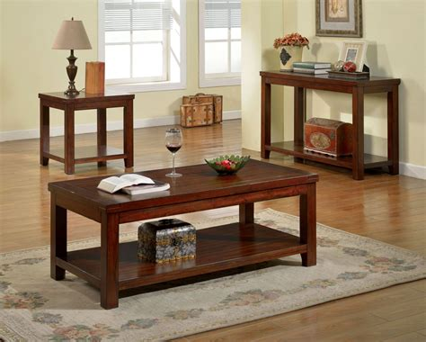 cherry sofa table estell cherry sofa table from furniture of america