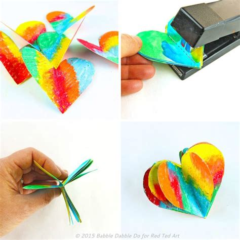 how to make and craft with paper 3d paper s day craft decoration