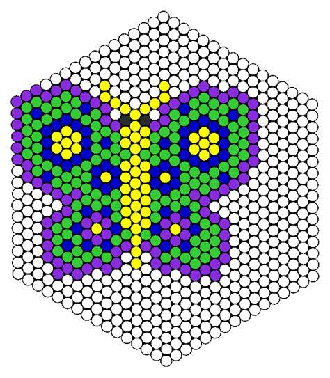animal bead patterns butterfly perler bead pattern bead sprites animals