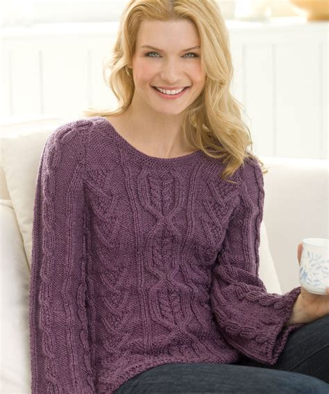 sweater knit cable knit sweater patterns a knitting