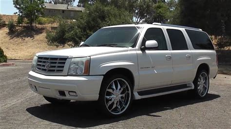 2003 Cadillac Escalade Esv by 2003 Cadillac Escalade Esv Information And Photos