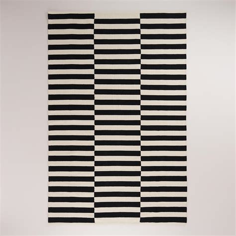 black and white striped outdoor rug 301 moved permanently