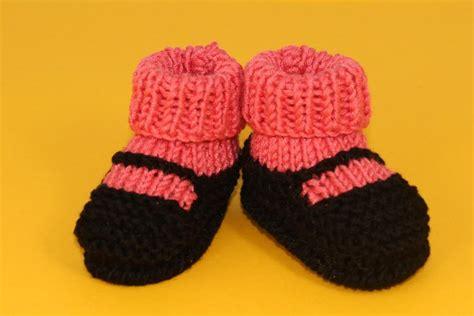 knitting baby socks 6 baby bootie knitting patterns on craftsy