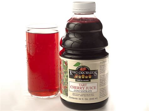 Tart Cherry Juice Concentrate King Orchards