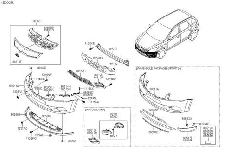 Kia Parts by My10 Parts Diagrams Damaged My Front Kia Forum
