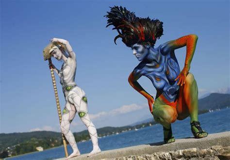 verona italy italian bodypainting festival lo mejor painting mundial en im 225 genes la gaceta