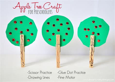 trees craft apple tree craft for preschoolers i crafty things
