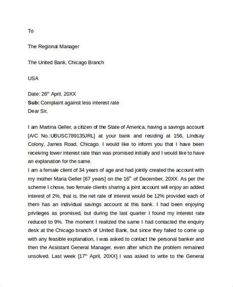 sample professional letter format 9 download free