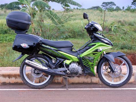 Modifikasi Motor Touring by Modifikasi Motor Jupiter Mx Touring