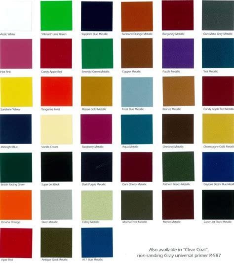 paint colors for starfire automotive finishes color chip chart automotive