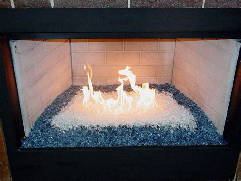 glass bead fireplace decorative glass