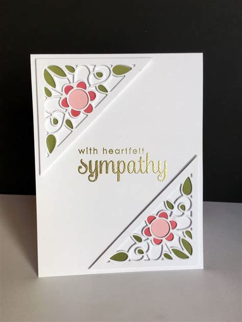 make a sympathy card 25 best ideas about handmade sympathy cards on