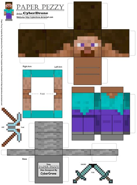 paper mind craft paper minecraft new calendar template site