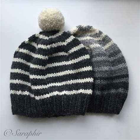 knitted beanie bentie beanie a free knitting pattern for a simple