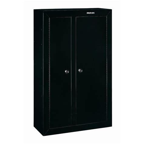 stack on 10 gun door cabinet stack on 10 gun black door security cabinet gcdb