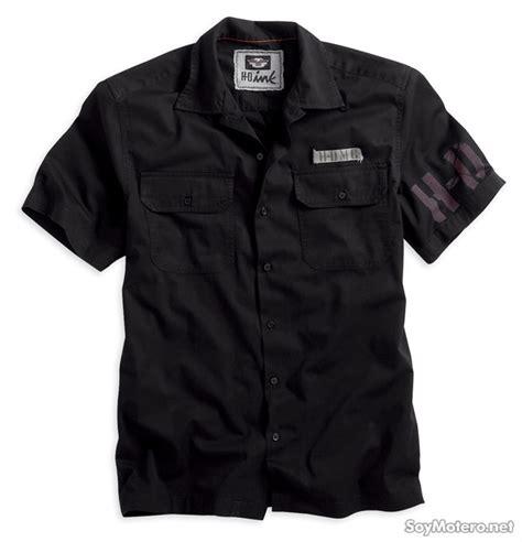 camisa negra manga corta camisa negra harley davidson manga corta