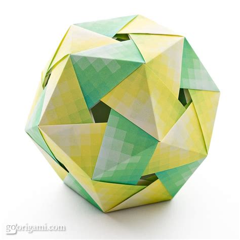 Modular Origami Polyhedra By Tomoko Fuse Go Origami