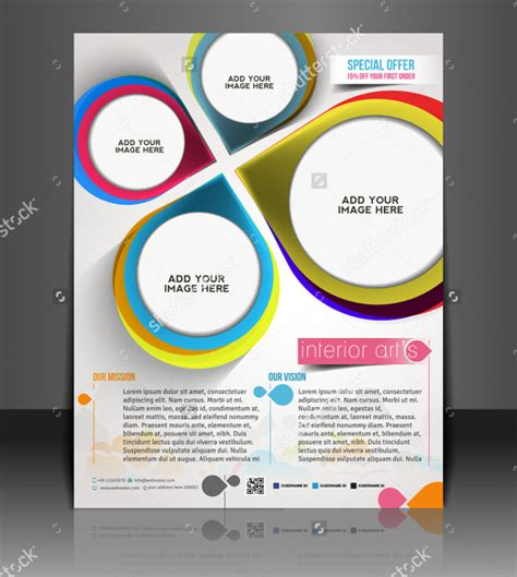 interior design flyers 18 interior design flyer designs and templates