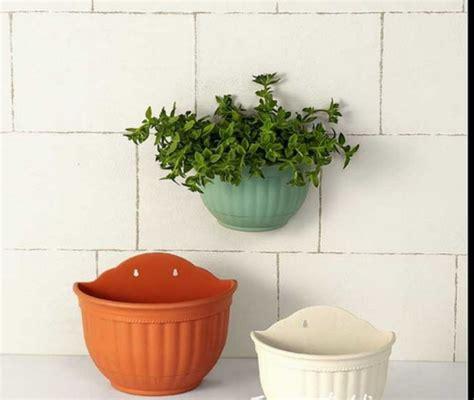 garden wall pots china semi circle flower garden wall planter plastic