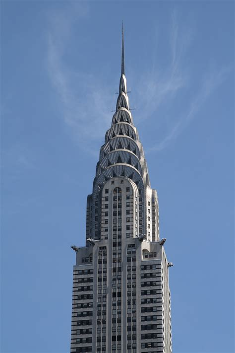 Chrysler Building Top by Building Facts Clearspan Fabric Structures