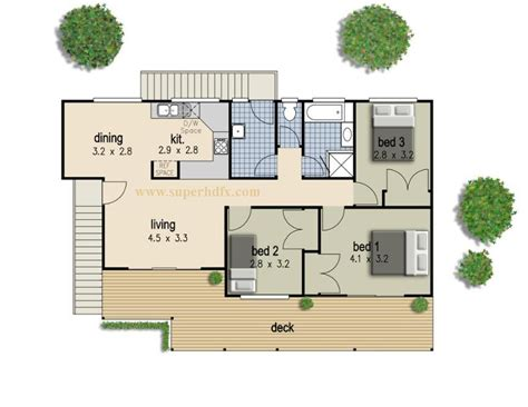 modern 3 bedroom house design simple 3 bedroom house plan superhdfx