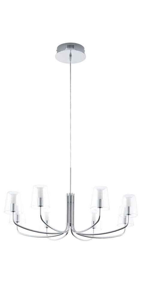 chrome chandeliers chrome led chandeliers clear glass