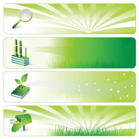 environmental theme banner vector background free vector