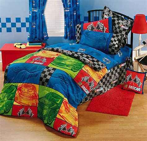 nascar bed nascar in the race bed skirt