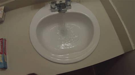kitchen sink drains slowly bathroom sink drain