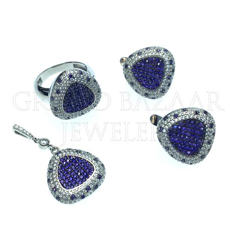 gemstone jewelry designer color gemstone jewelry sets gbj270st13001