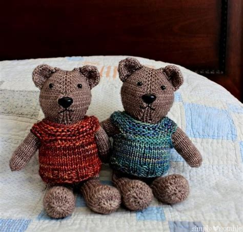 knit teddy nearly no seams knit teddy allfreeknitting