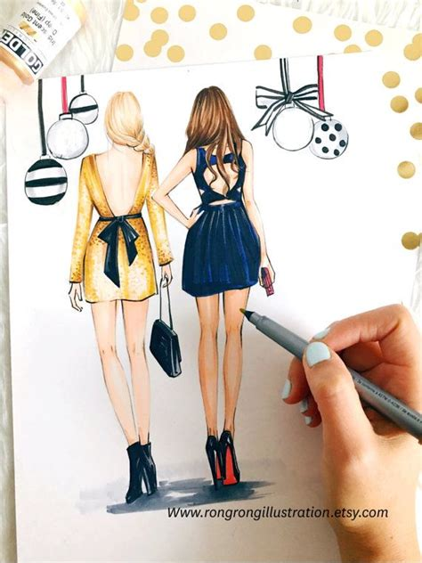 best fashion illustration best gift gossip