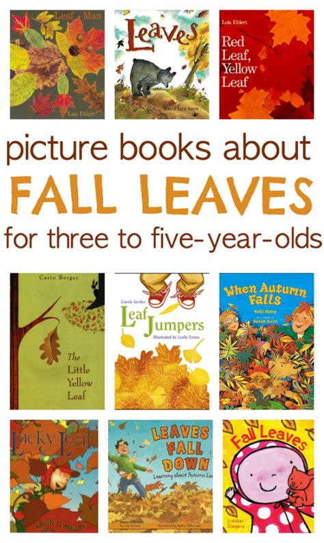 fall picture books 9 books about fall leaves no time for flash cards