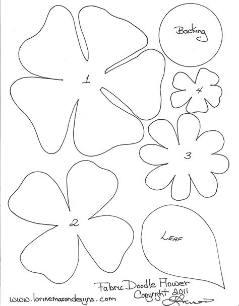 flower paper craft template free printable paper flower templates scissors paper and