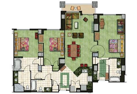 marriott grand chateau 2 bedroom villa floor plan 17 best ideas about south lake tahoe rentals on
