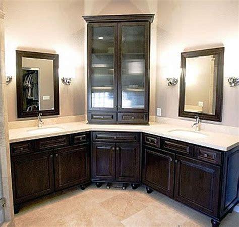 bathroom sinks vanity best 25 corner bathroom vanity ideas on his
