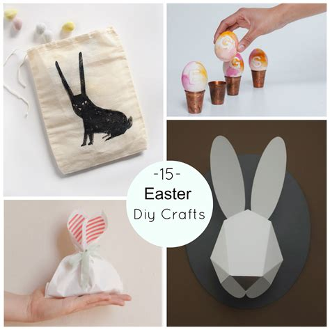 crafts for diy 15 easter diy crafts