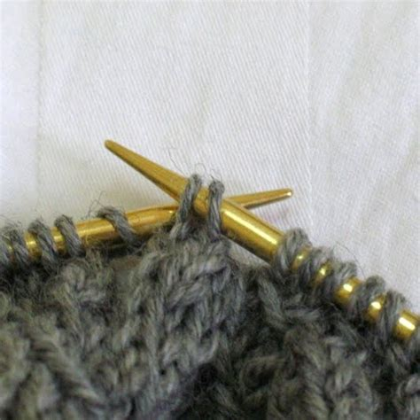 how to tbl in knitting lilygo tutorial easier way to make p2tog tbl for tight