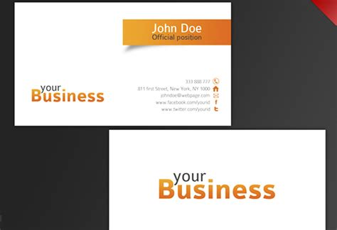 how to make a business card template 30 beautiful business card design templates
